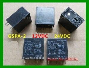 Image 1 - 2 teile/los G5PA 2 G5PA 2 12VDC 12VDC G5PA 2 24VDC 24VDC 5A relais DIP 6