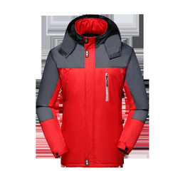 North Winter Jacket Men 2019 New Reflective Strips Windproof Face Comfortable Coats Outdoor Sports Plus Size Christmas Parka