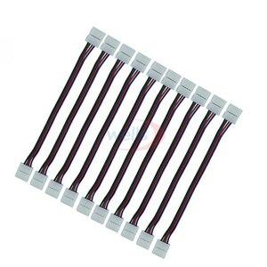 Image 4 - Câble à double connexion, 2/3/4/5 broches, 100 pièces, pour WS2811/WS2812B/3528, RGB/RGBW 5050, 5050 pièces