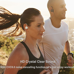 Image 5 - 2pcs/lot GGMM W600 Bluetooth Headphone IPX4 Sweatproof Wireless Headphones Headset with Mic Sport Earphone For iPhone Xiaomi