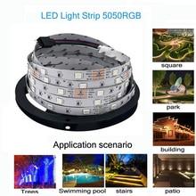Светодиодная лента 5050RGB эпоксидной водонепроницаемый и прочный выделить красочные атмосфера лампы 10M300