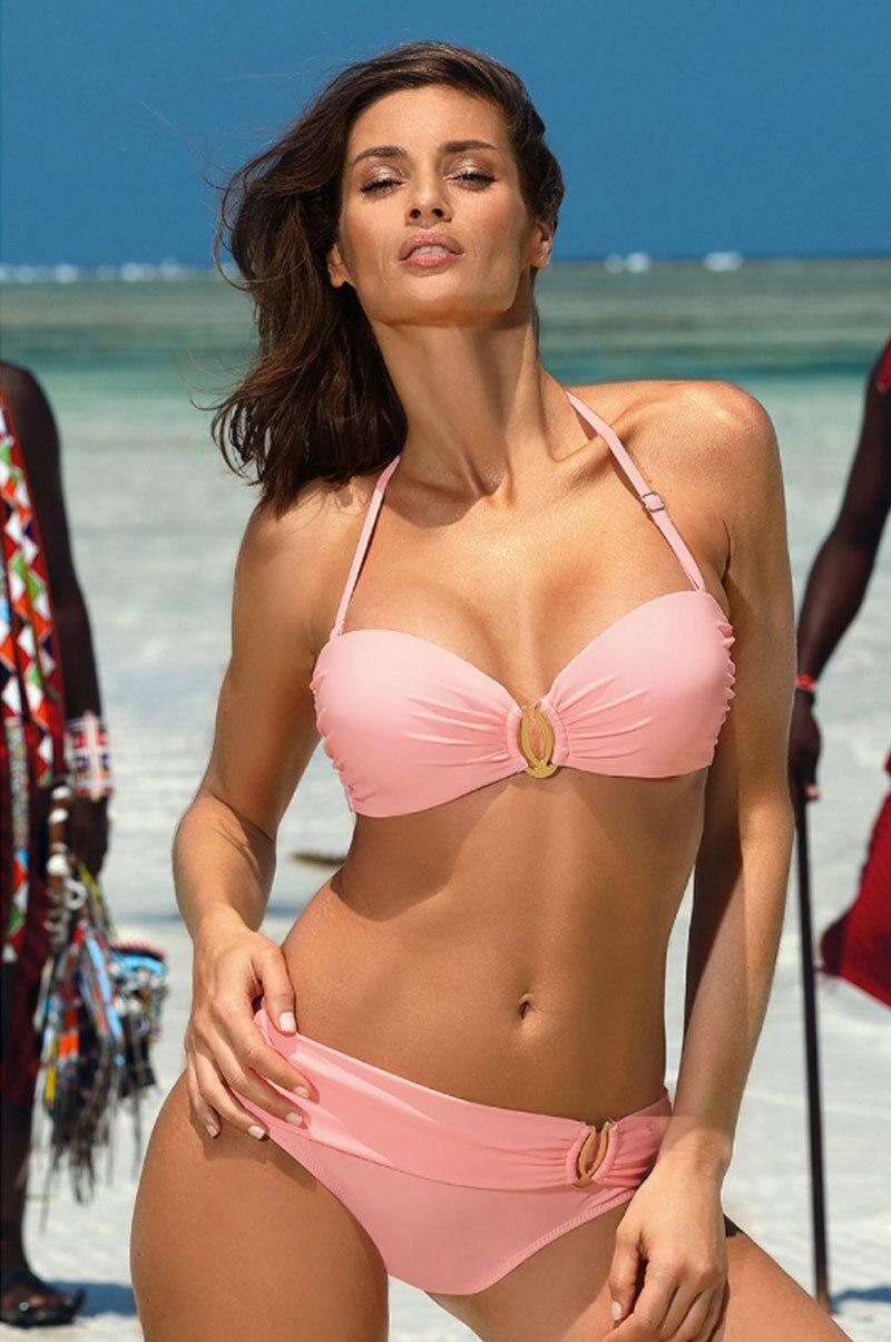 Hdd6185e71fa94871a1c9df7e95c2e3e7c Miyouj Sexy Leopard Bikini Push Up Deep V Swimsuit Female Hollow Out Bathing Suit Women Snake Skin Print Biquini Halter Bikinis