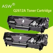 ASW Q2612A q2612 12a 2612 toner cartridge 2612a for HP LaserJet 1010 1012 1015 1020 3015 3020 3030 3050 1018 1022 1022N printer