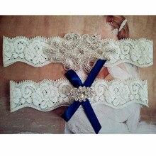 1 пара винтажный комплект свадебной подвязки винтажное кружево цвета слоновой кости подвязка со стразами свадебная подвязка