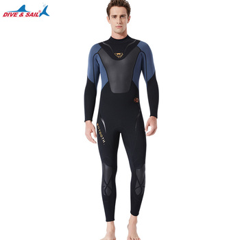 Full-body Men 3mm Neoprene Wetsuit Surfing Swimming Diving Suit Triathlon Wet Suit for Cold Water Scuba Snorkeling Spearfishing 8