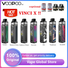 Original 70W VOOPOO VINCI X Pod Kit w/ Dual-coil System Powered by Single 18650 Battery No Battery
