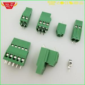 KF129A 5,0 2P 3P PCB универсальные Винтовые клеммные блоки DG130A KF129HL 5,0 мм 2PIN 3PIN PHOENIX CONTACT DEGSON KEFA
