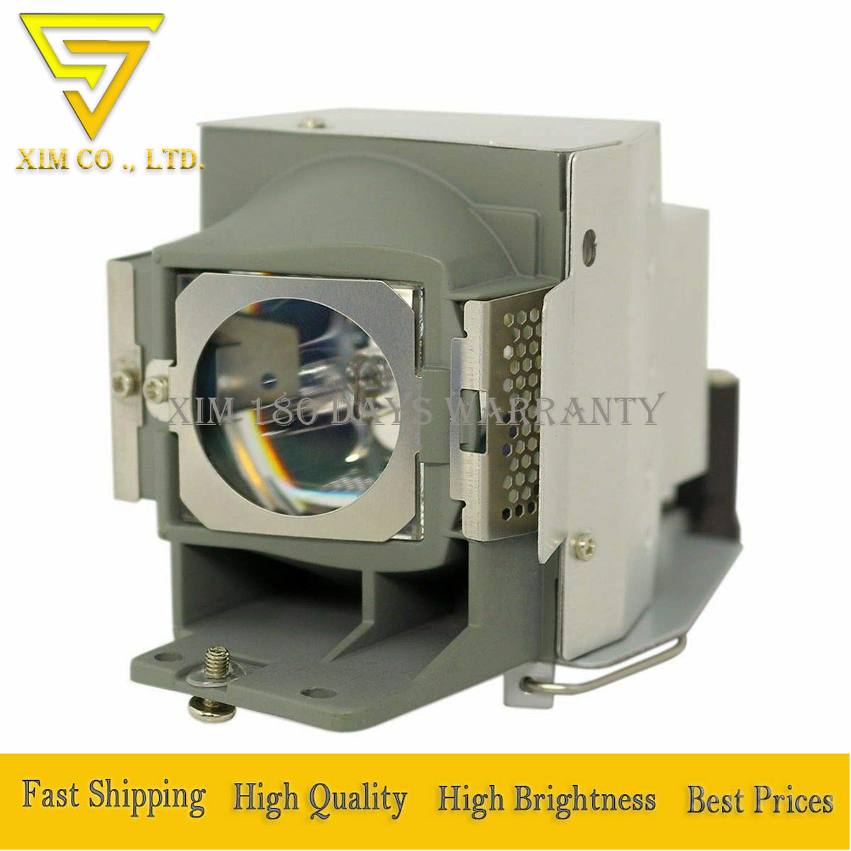 high quality RLC-071 Replacement Lamp with Housing for VIEWSONIC PJD6253 PJD6383 PJD6383s PJD6553w PJD6683w PJD6683ws Projectors