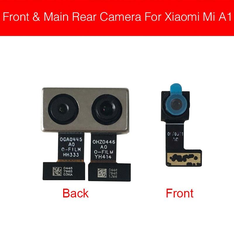 Front & Back Rear Camera Flex Cable For Xiaomi Mi A1 5X Mi5X Main Big Camera Flex Ribbon Cable Replacement Repair Parts