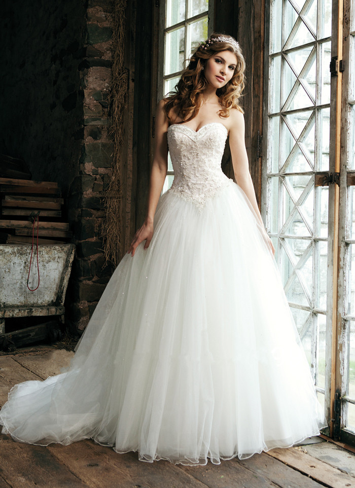 Vestido De Noiva Beaded Fashioned Ball Sweetheart Pearls With Appliques Puffy Princess Bridal Gown Mother Of The Bride Dresses