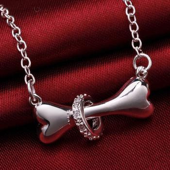 Dog bone Pendant Necklace 1