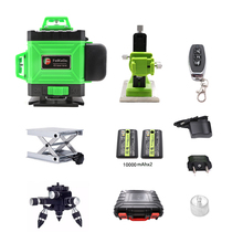 New Professional 16 Line 4D laser level Japan Sharp Green 515NM Beam 360 Vertical And Horizontal Self leveling Cross
