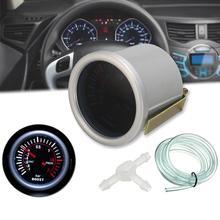 Универсальный 1-2 бар турбо Boost Gauge авто автомобиль вакуумный пресс сенсор метр маска камера заднего вида вид carros аксессуары