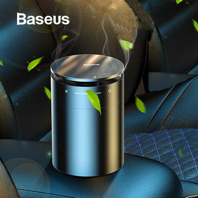 BASEUS Car Air Freshener Diffuser AUTO Parfum Aromaterapi Ion Formaldehida Udara Bersih Penyedap untuk Mobil Freshner Parfum