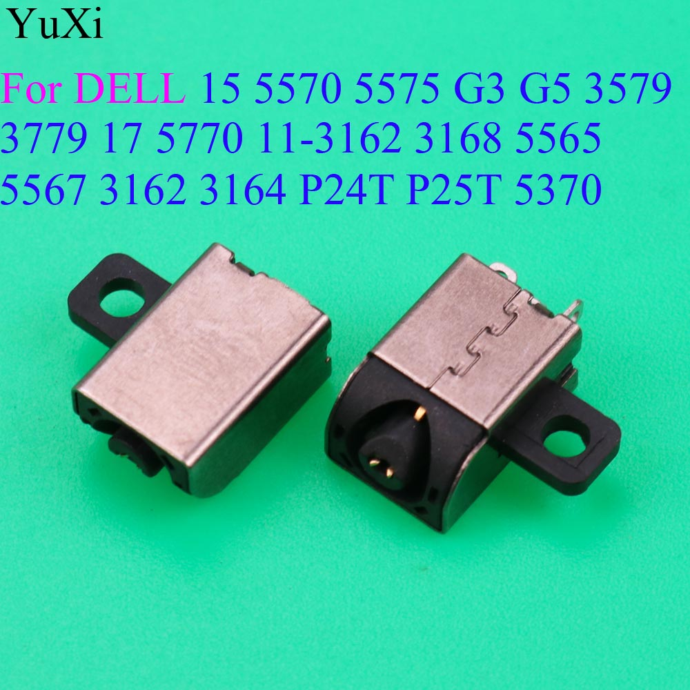 DC Power Jack connector for <font><b>Dell</b></font> Inspiron 15 5570 5575 G3 G5 3579 <font><b>3779</b></font> 17 5770 11-3162 3168 5565 5567 3162 3164 P24T P25T 5370 image