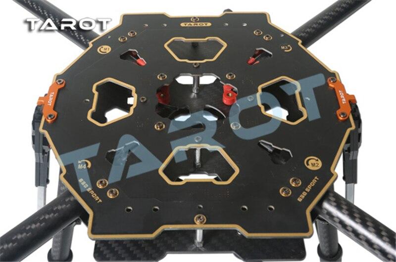 Tarot TL65S01 650 Sport Carbon Fiber Quadcopter mit Elektronische Folding Fahrwerk für RC FPV Fotografie-in Teile & Zubehör aus Spielzeug und Hobbys bei  Gruppe 3