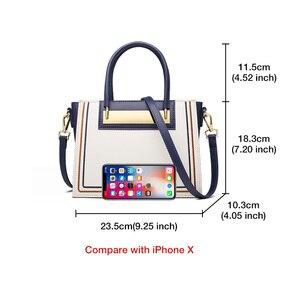 Image 5 - FOXER Rindsleder Leder Büro Dame Chic Geldbörse Luxus Messenger Taschen für Mode Weibliche Hohe Kapazität Frauen Handtasche Elegante Totes