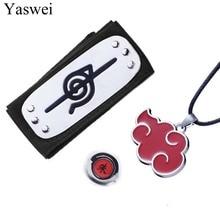 Costume-Accessories Headband Jewelry-Set Open-Ring Naruto Necklace Halloween Fashion