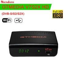 GTmedia V7S2X DVB-S2 S2X Satellite TV Empfänger 1080P Full HD Digital TV Box Mit USB WIFI für Europa cline spanien PK Freesat V7S