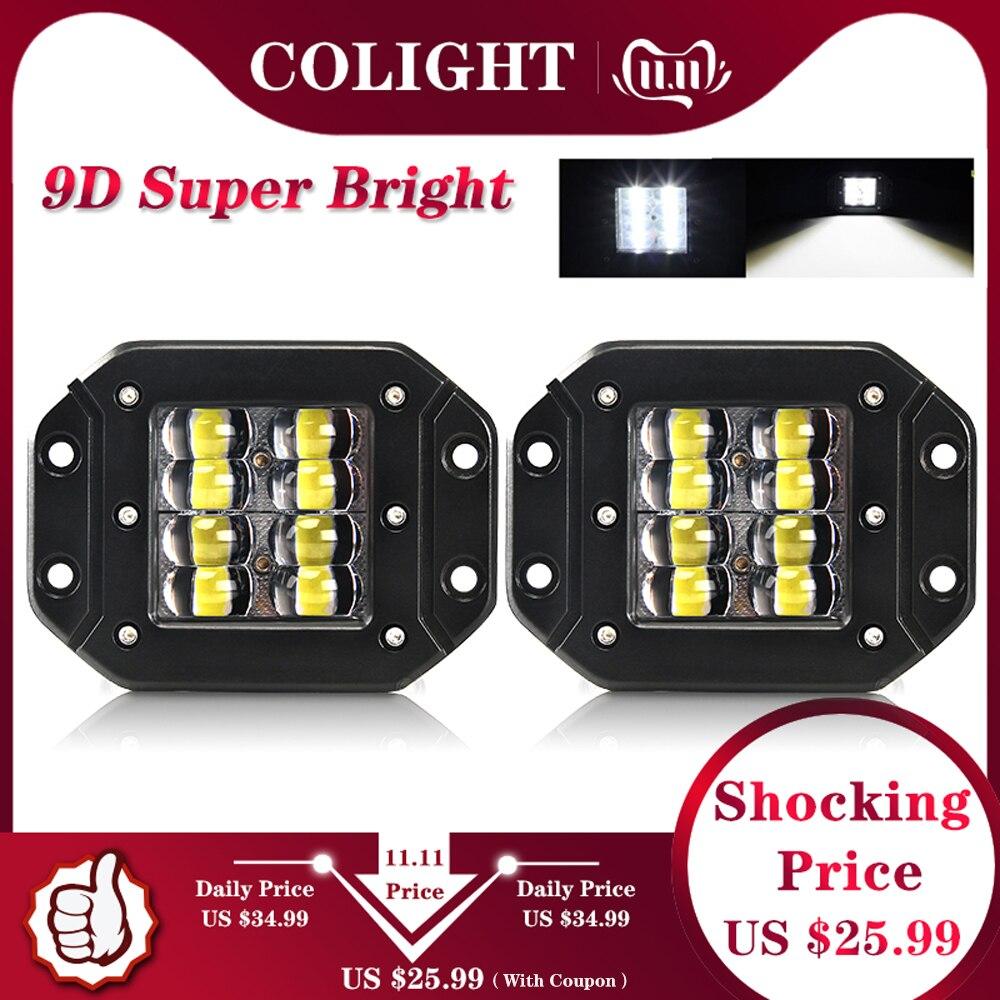 CO LIGHT 9D 80W LED Work Light Bar 5