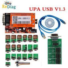 Neueste UPA Ankunft UPA Usb Programmierer Diagnose-tool UPA-USB ECU Programmierer UPA USB V1.3 Mit Voller Adapter UPA V1.3