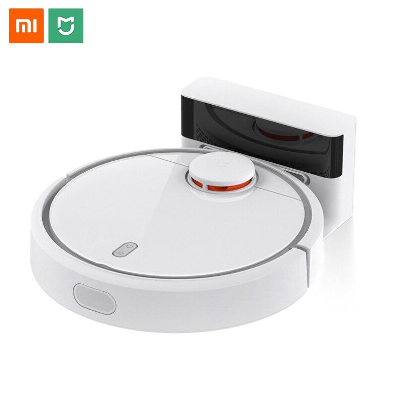 Versão Global Xiaomi mi Robot Vacuum Cleaner para Casa Inteligente Automático Varrendo Planejado WiFi mijia App Controle de Poeira mais limpo