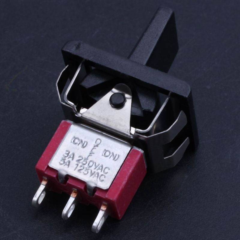 Hdd634a30c48347f5a0701a0fbfc6e3b8K - AC 250V/3A 125V/5A Momentary SPDT 3 Positions Toggle Switch T80-R
