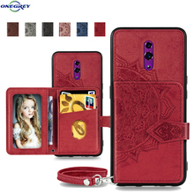 Luxury Wallet Case For Oppo R17 F11 Pro