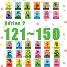 Lavoro di carte per incroci di animali per NS Games Series 2 (dal 121 al 150)