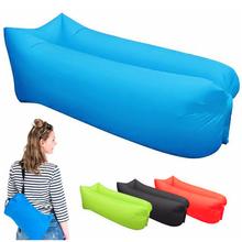 Nadmuchiwany dmuchany fotel Sofa lekki śpiwór plażowy hamak powietrzny składany szybki Sofa dmuchana na plażę kemping podróż tanie tanio Desert Fox [ 15℃] Łączenie singiel śpiwór Dla dorosłych Standardowy (nadaje się do 1 8 m wysokości i poniżej)