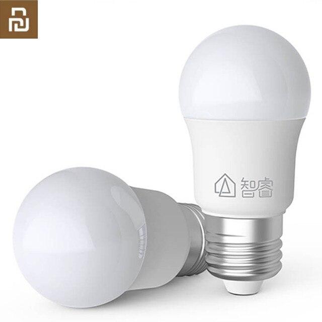 Youpin ZHIRUI 5WหลอดไฟE27 6500K 500lumสีขาวหลอดไฟLEDสำหรับชุดโคมไฟหลอดไฟ