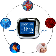 Wrist Type Laser Therapy Instrument for Hyperviscosity,Hyperlipemia,Hyperlipidemia,Hypertension Rehabilitation Physiotherapy 650nm laser therapy wrist low frequency hypertension hyperlipidemia hyperviscosity cholesterol treatment laser therapy watch
