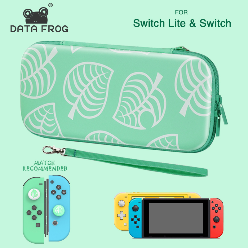 DATA FROG Animal Portable Travel Carrying Case For Nintendo Switch Lite Console Storage Bag For NS Lite Accessories