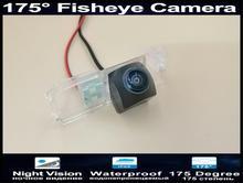 1080P 175 Degree Fisheye Lens Parking Car Rear view Camera for Volkswagen Polo Hatchback Golf Magotan Bora Scirocco Passat CC B6 цена и фото