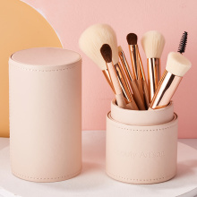 Beautiful Artisan Makeup Brush Set Beginner Animal Hair Makeup Tool Full Eye Shadow Brush Collection Pack 8