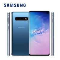 Original versión Global Samsung Galaxy S10 G973F/DS 8GB RAM 128GB ROM desbloqueado teléfono móvil Exynos 9820 Octa Core 6,1