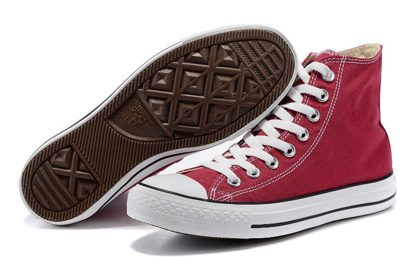 Converse class all star <font><b>Skateboard</b></font> <font><b>Shoes</b></font> <font><b>Unisex</b></font> Sneakers Canvas <font><b>shoes</b></font> High Low Comfortable Durable image