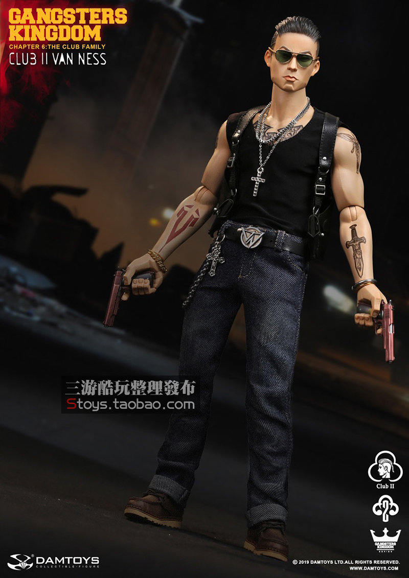 in stock full set Gangsters Kingdom Club 2 Van Ness(GK017) Wu Jianhao Van Ness  Action Figure Colletible Toys 1