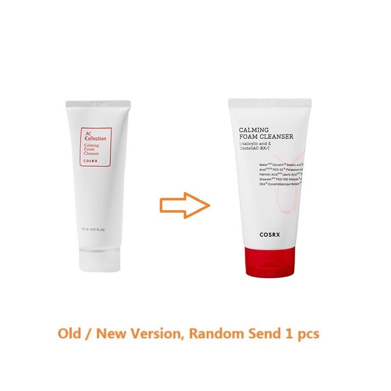 COSRX AC Collection Calming Foam Cleanser 150ml Facial Cleanser Sebum Control Blackhead Remove Acne Treatment Face Cleansing    - AliExpress