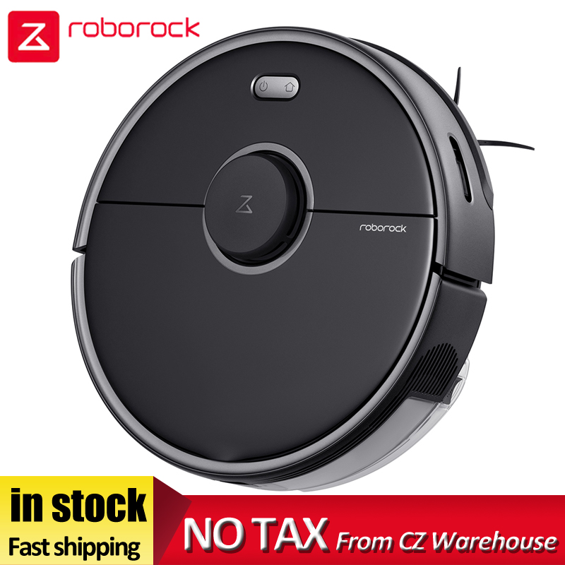 2020 Newest Roborock S5 Max Robot Vacuum Cleaner Automatic Sweep Dust Sterilize Smart Planned Washing Mopping WIFI APP Control