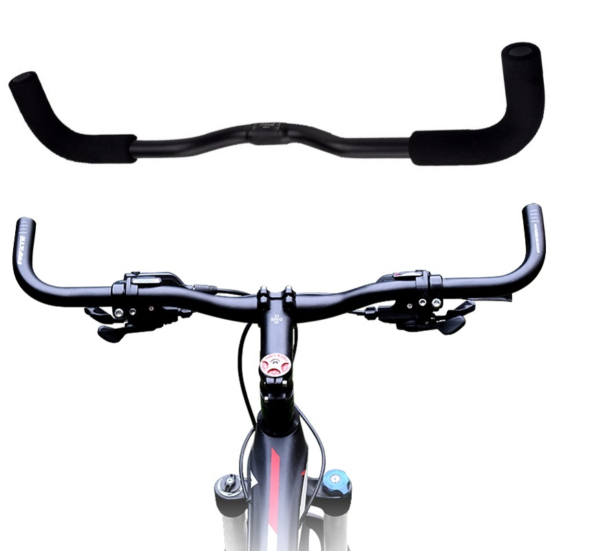 Butterfly Aluminium HandleBar 25.4//31.8mm Suit MTB Road Bike Bicycle Handlebar