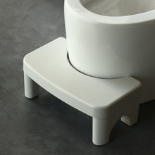 Thickened Toilet Stool Pad Footstool Plastic Antiskid Adult Squatting Artifact Children's Foot