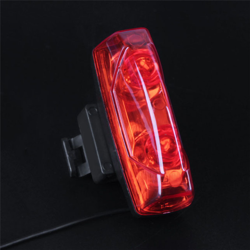 Bike Tool Bicycle Lights Induction Tail Light Bike Bicycle Warning Lamp Magnetic Power Generate Taillight Wholesale