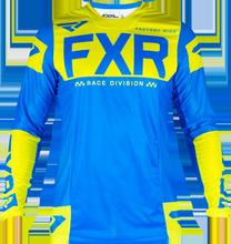 FXR FISH Racing Mens GP Air Prisma Flo Yellow Race Jersey MX ATV MTB Off Road Mountain Bike moto Jersey DH BMX motocross jersey