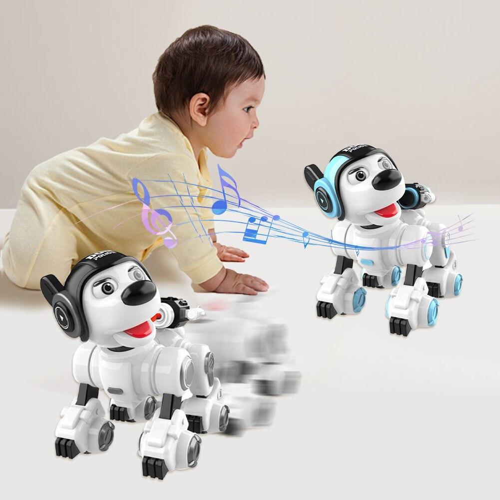 brinquedos dança comando voz inteligente cão eletrônico