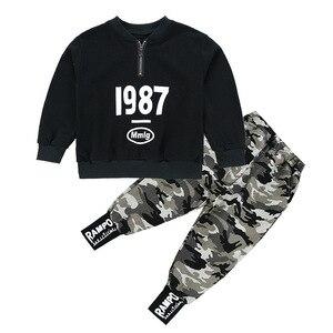 Image 5 - 3 4 5 6 7 8 9 10 11 12 ปีชายเสื้อผ้าเสื้อกางเกงเสื้อผ้าเด็กชุดเด็กฝ้ายชุดลำลองเด็กชุดสำหรับ Boy