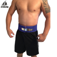 FDBRO Leather Weightlifting Belt Men Lumbar Protection Gym Fitness Training Squats Powerlifting Back Weight Lifting Belts Sale
