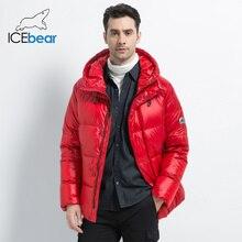 ICEbear зимний мужской пуховик стильный мужской пуховик Толстая Теплая мужская одежда брендовая мужская одежда MWD19867I