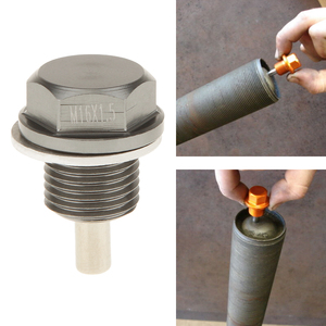 Image 1 - M16X1.5 Magnetic Oil Sump Nut Drain Oil Plug Screw Oil Drain Magnetic Oil Plug Nut For Toyota/Scion Subaru Car Accessories 2019