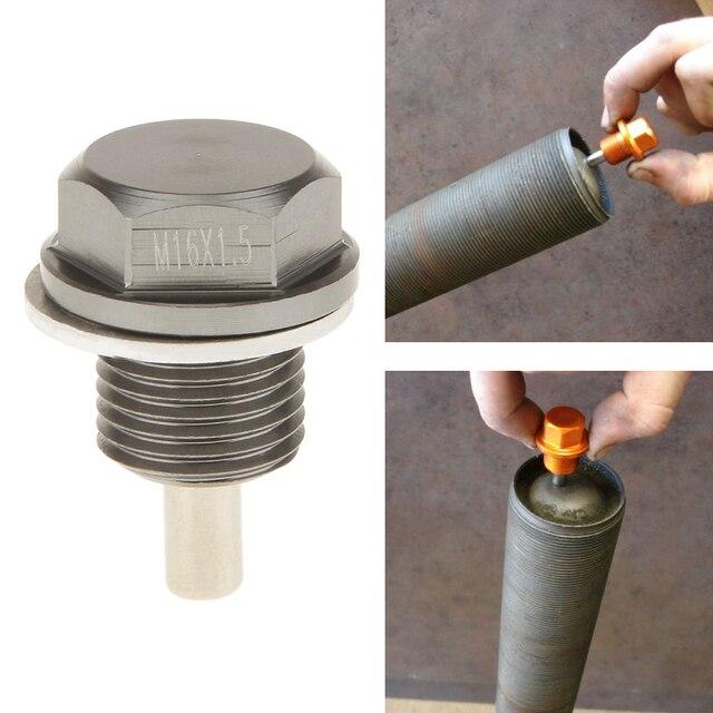 M16X1.5 Magnetic Oil Sump Nut Drain Oil Plug Screw Oil Drain Magnetic Oil Plug Nut For Toyota/Scion Subaru Car Accessories 2019